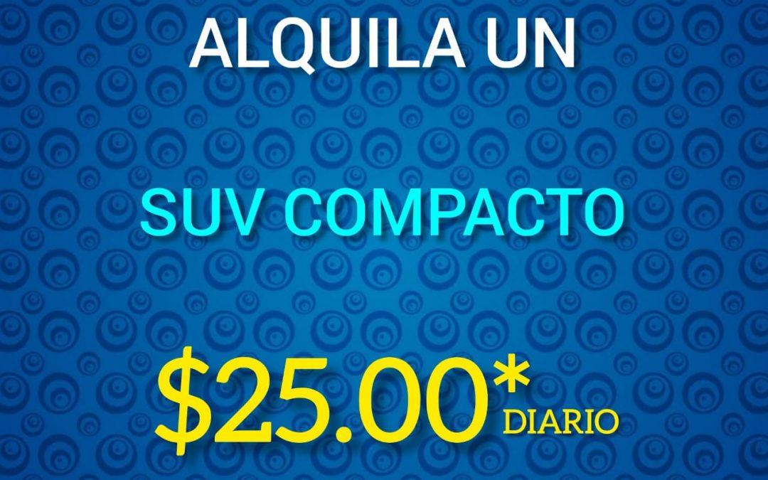 SUV COMPACTO EN PROMO